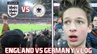 ENGLAND vs GERMANY!!!!! LEROY SANE SCREAMER... OZIL IS A GHOST!