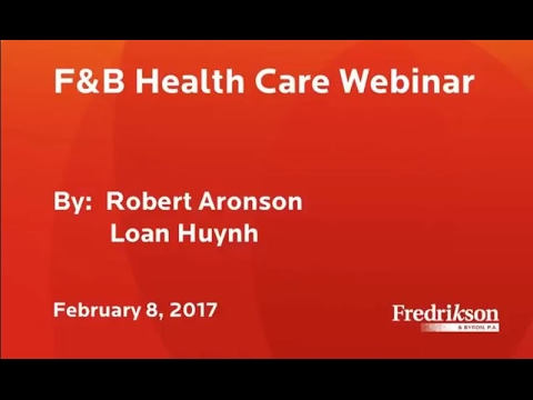 Health Law Webinar: Turning Immigration into a Powerful Physician Recruitment Tool