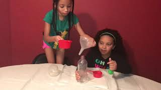 Science Sisters- Chemical Reaction