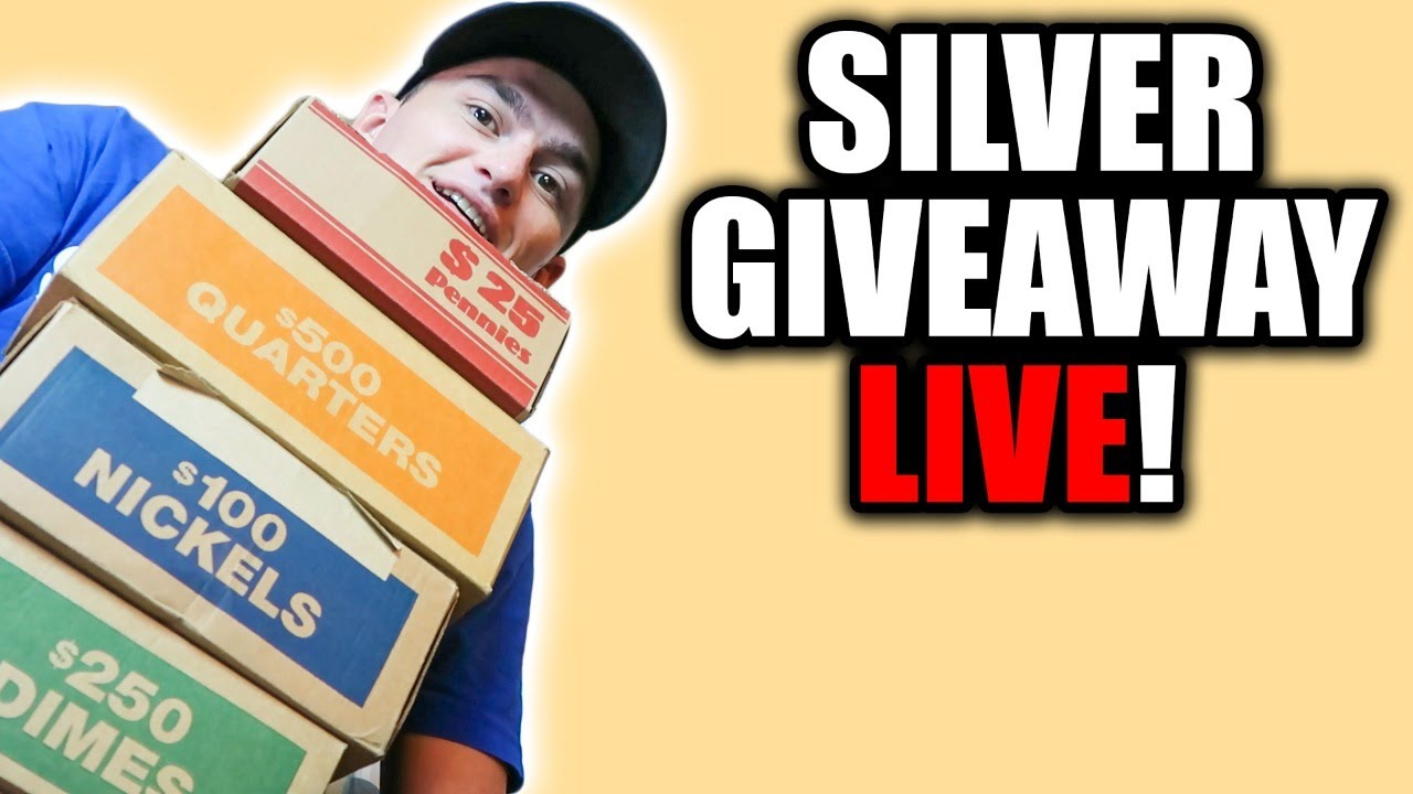 Coin Shortage - FREE Silver Coin Giveaways!!