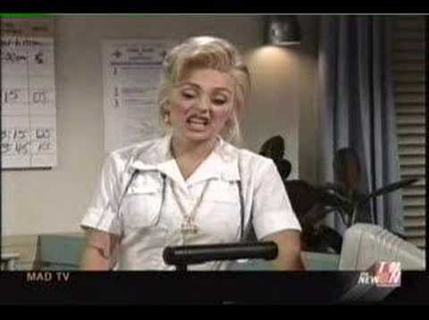 Mad TV - Vancome Lady working in the ER