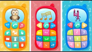"""Baby Phone Game for Babies """"Educational Education"""" Android App Gameplay Video"""