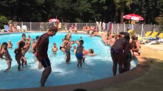 Zwembad camping Beau Rivage
