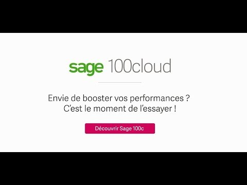 Sage 100cloud, une solution performante, innovante, conforme et collaborative