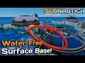 1.0 RELEASE DEVELOPER stream & Surface base water fix! |Subnautica News #99