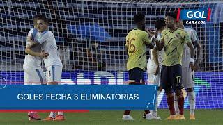 Eliminatorias Sudamericanas Catar 2022 fecha 3, resumen de todos los goles