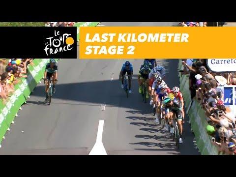 Last kilometer - Stage 2 - Tour de France 2018
