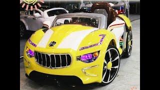 "видео: Электромобиль ""Maserati А222АА"" (Мазерати) - Видео Обзор"