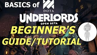 """Beginner's Guide and Tutorial to Dota Underlords 