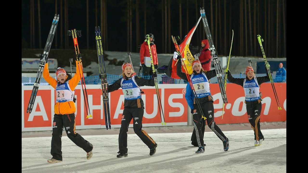 biathlon frauen staffel
