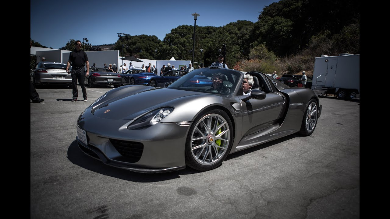 2014 porsche 918 spyder jay leno 39 s garage doovi. Black Bedroom Furniture Sets. Home Design Ideas