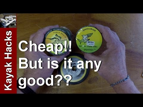 Power Pro Braided Line Vs Cheap Braided Fishing Line From EBay Tested!