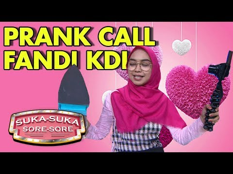 PRANK CALL Fandi KDI, Ria Ricis Senang Banget - Suka Suka Sore Sore (9/1) PART 4