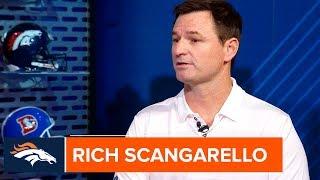 New OC Rich Scangarello on Phillip Lindsay & Young Broncos Talent | Denver Broncos