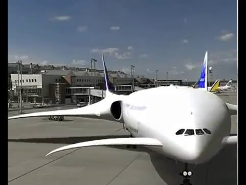 Airbus A360 Ecojet - 3D