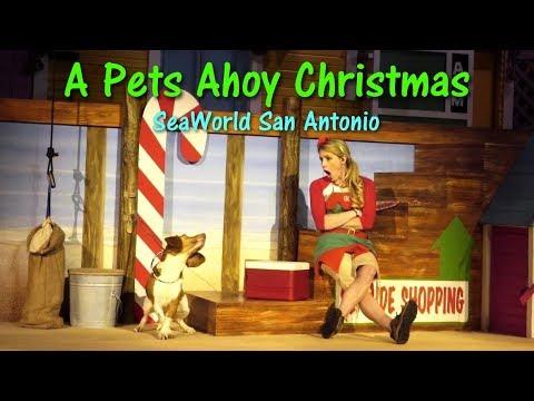 2017 A Pets Ahoy Christmas SeaWorld San Antonio Complete Show
