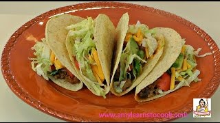 Amy's Crispy Chicken Tacos