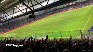 If you love Eindhoven clap your hands : De Graafschap-PSV : 10/11/2018 : 1-4
