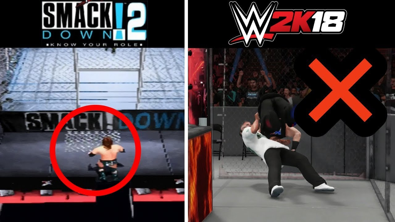 10 Features PS1 WWE Games Had That PS4 WWE Games Don't Have