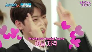 Video [ENG SUB] 171113 ASTRO25 S2 EP2 - Discovery of Hidden Variety Talent download MP3, 3GP, MP4, WEBM, AVI, FLV Mei 2018