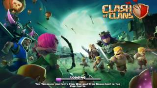 """Clash Of Clans - Halloween Update Features """"THE SCARY PUMPKIN"""" & Other Appearance Changes"""