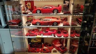 Ferrari collection 1:8, 1:12, 1:18, 1:43 (POCHER,TAMIYA,HOT WHEELS etc.)