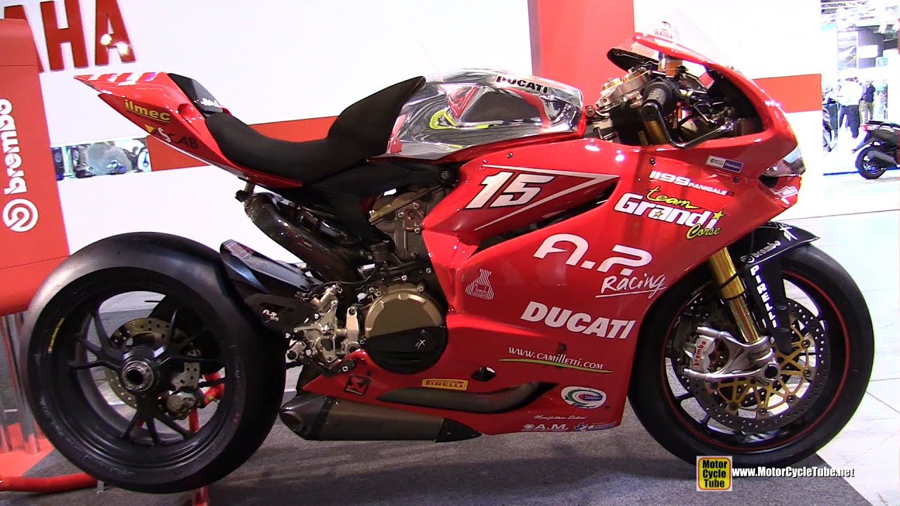 2014 Ducati 1199 Panigale R SBK Racing Bike - Walkaround ...
