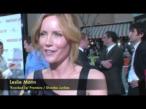 Leslie Mann Interview - 'Knocked Up' Movie Premiere