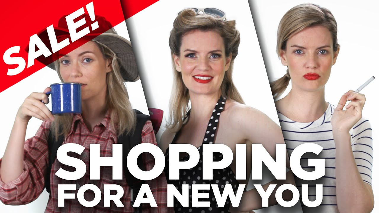 Shopping for a New Version of You - YouTube