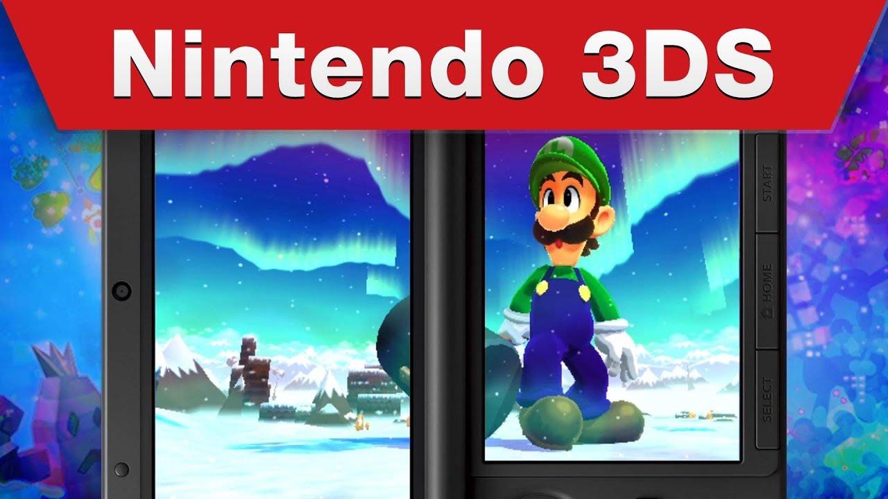 Nintendo 3ds Mario Luigi Dream Team E3 Trailer Youtube