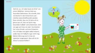 Учимся говoрить на немецком языке. # 8 (Я ПОЛУЧИЛА ПИСЬМО)