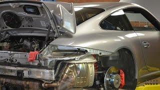 How to Remove a Porsche 997 GT3 Engine