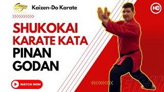Shukokai Karate Kata - Pinan Godan