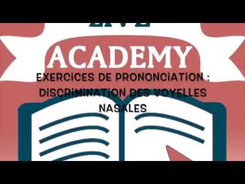 Exercices de prononciation + discrimination des voyelles ...
