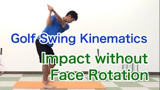 Golf Swing Kinematics Japan / Don't use the face rotation on the impact zone! like Spieth, Dustin