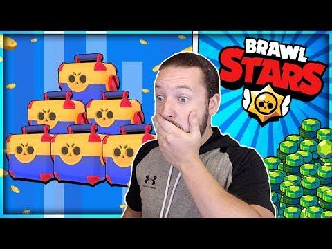 2000+ MEGA BOX GEM OPENING!! INSANE BOX OPENING! - Brawl Stars