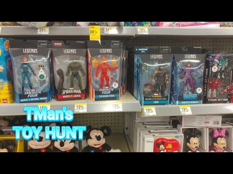 1000th Upload: TMan's TOY HUNT #110: Marvel Legends, Transformers Hunt/My Current Collection Display