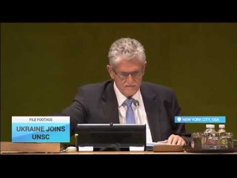 Ukraine Wins UN Security Council Seat: Russia reportedly campaigning against giving Ukraine a seat