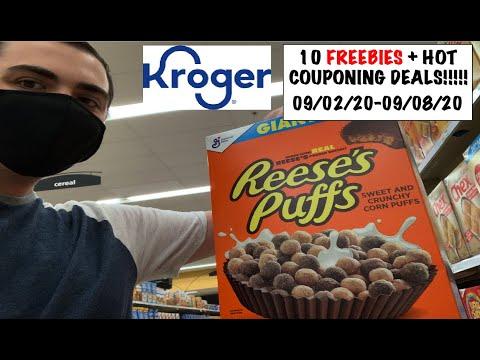 10 FREEBIES AT KROGER + HOT COUPONING DEALS!!! — 09/02/20-09/09/20
