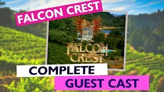 Falcon Crest Opening Complete Guest Cast