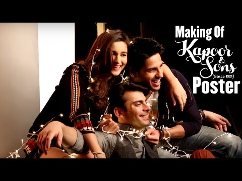 The Making Of The Poster | Kapoor & Sons |...
