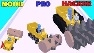 NOOB vs PRO vs HACKER in Stone Miner screenshot 5