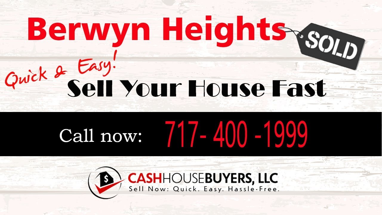 HOW IT WORKS We Buy Houses Berwyn Heights MD | CALL 7174001999 | Sell Your House Fast Berwyn Heights