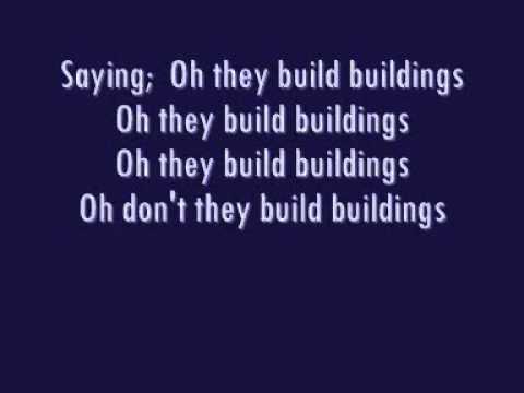 Regina Spektor buildings lyric video