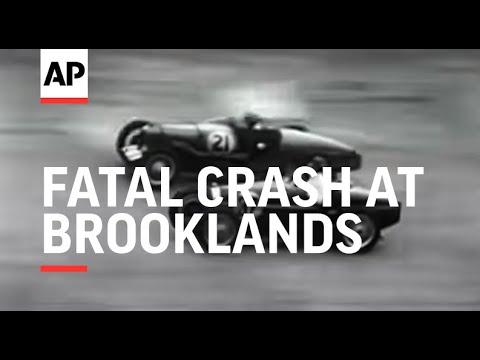 Fatal Crash at Brooklands (Dunfee)