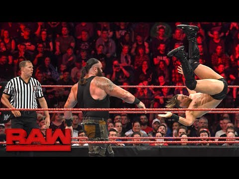 Braun Strowman vs. The Miz: Raw, Nov. 6, 2017