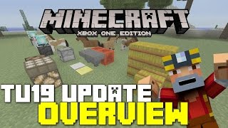 Minecraft Xbox 360/One: TU19 Update! - FULL Overview w/ New Features!