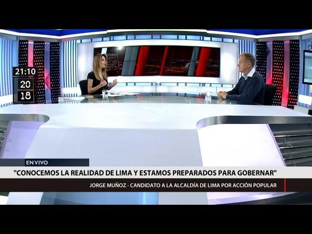 Jorge Muñoz a Mávila: Mi compromiso es poner el Estado al servicio del ciudadano