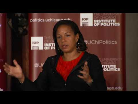 Former National Security Advisor Susan E. Rice