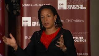 Former National Security Advisor Susan E. Rice